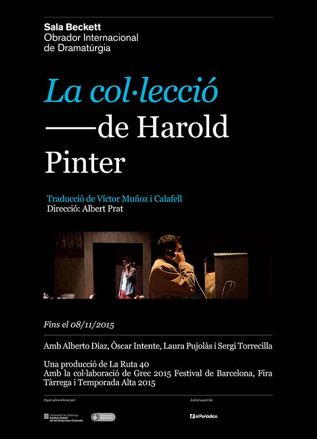 LA COL·LECCIÓ de Harold Pinter