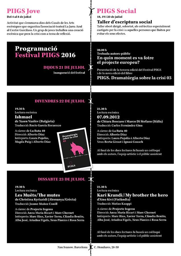 FESTIVAL PIIGS 2016